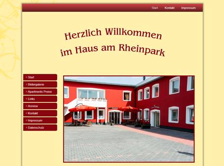 Haus am Rheinpark in Duisburg Apartments zu vermieten.