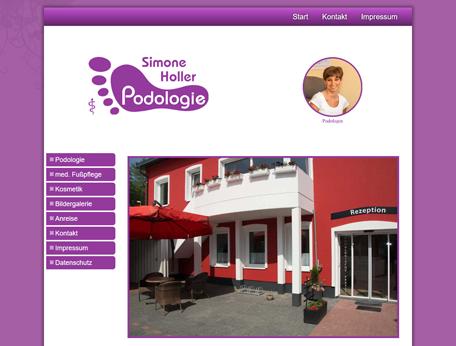 Podologische Praxis Simone Holler in Duisburg.
